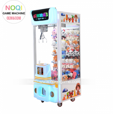 CRAZY TOY 3 ARCADE GAMES CLAW MACHINE