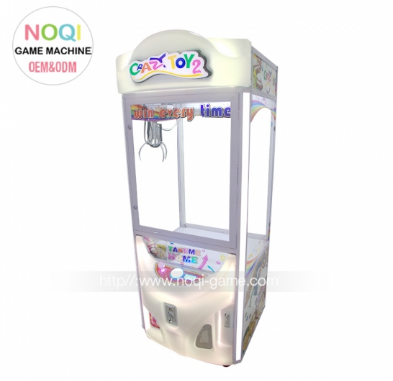 Noqi Crazy Toy 2 arcade kids crane claw machine for sale Contry: United States