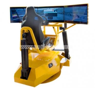 Noqi 360° Rotating Full Motion Racing Game Simulator Home Arcade Machine