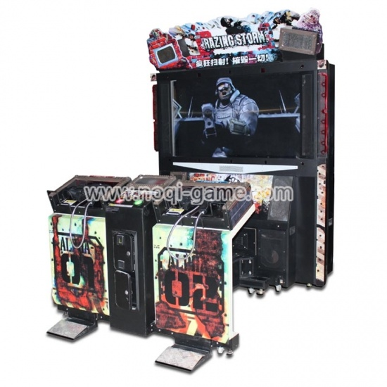 Noqi Razing Storm 55'' indoor best arcade games