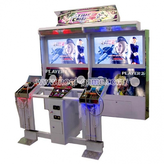 Noqi Time Crisis 4 46'' arcade games shooting simulator for sale