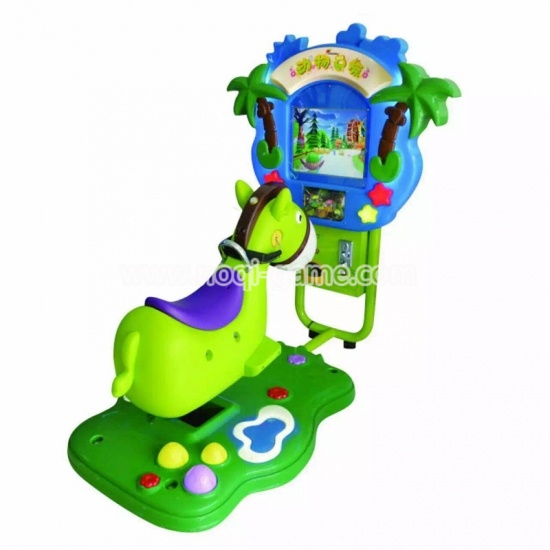 Noqi amusement ride Donkey kiddie ride machines