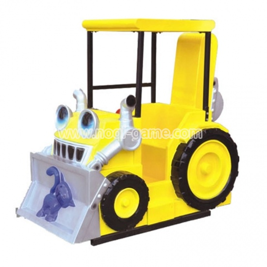 Noqi bulldozer fiberglass kiddy ride kiddie ride fun