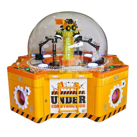 Noqi family 4 people prize games toy grabber machine
