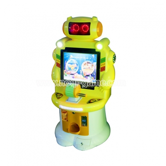 Noqi high quality super robot arcade game machine for sale