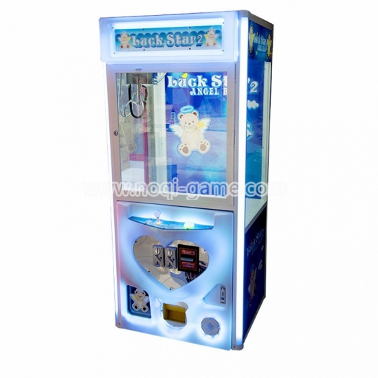 Noqi beautiful Angel bear 2 grab machines with LED lights