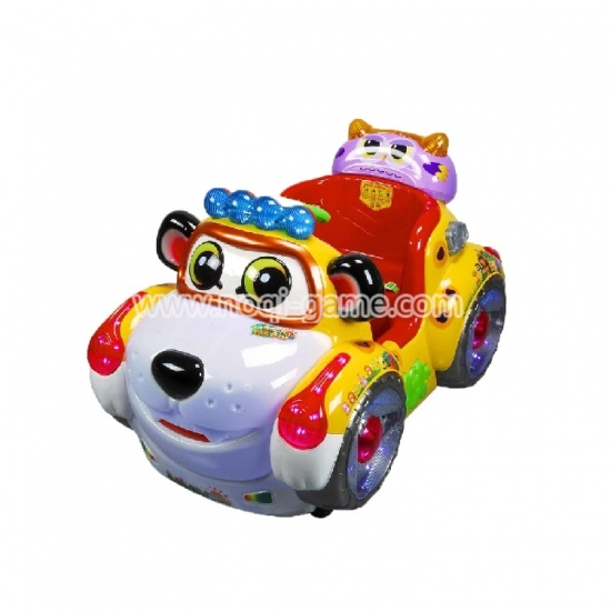 Jungle baobao car kids favorite coin operated horse ride