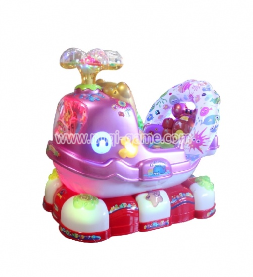 China plastic kiddie amusement rides for sale