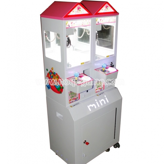 Noqi high quality mini crane toy grabber machine game