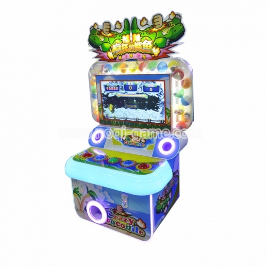 Noqi crazy crocodile hitting game machine for kids