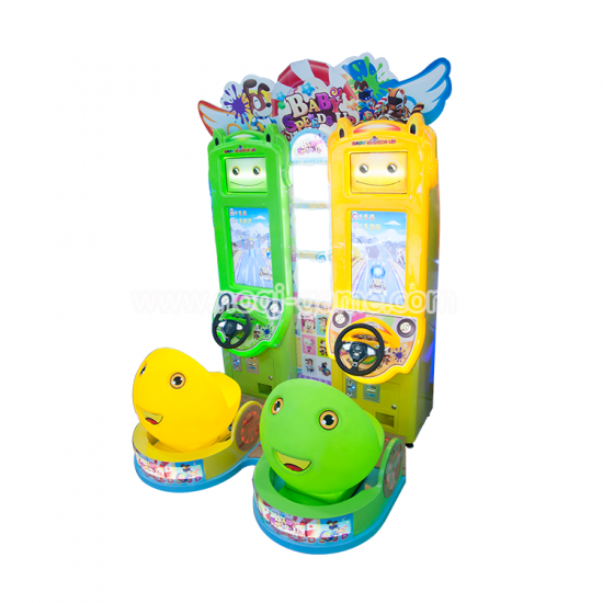 Noqi Baby speeds up kids racing game machine