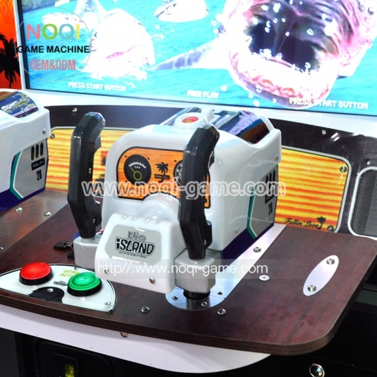 Noqi Let's go Island 55'' video game arcade shooting simulator games