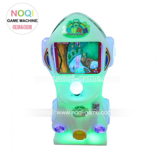 Noqi plastic crazy jumping kids game machine
