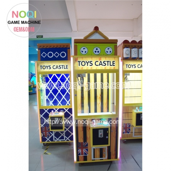 Toy castle toy claw machine for mall
