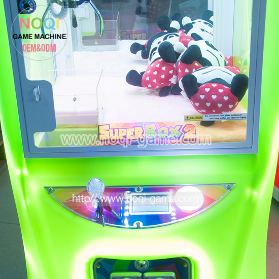 Super box 2 toy claw machine game