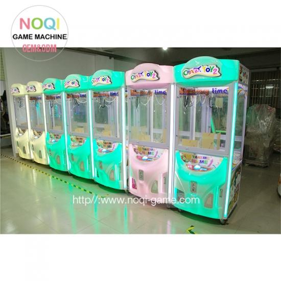 Noqi Crazy Toy 2 Arcade Kids Crane Claw Machine For Sale