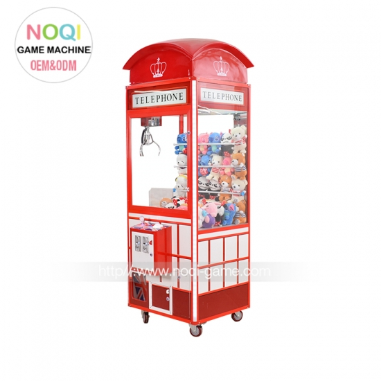Noqi new attractive Telephone claw machine with EU standard