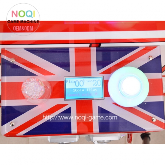 Noqi new attractive Telephone claw machine sale with EU standard
