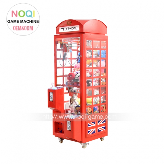 Indoor attractive metal family telephone toy claw machines