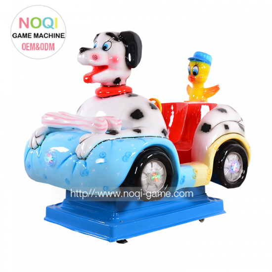 Noqi big dog  coin operated kiddie ride for sale