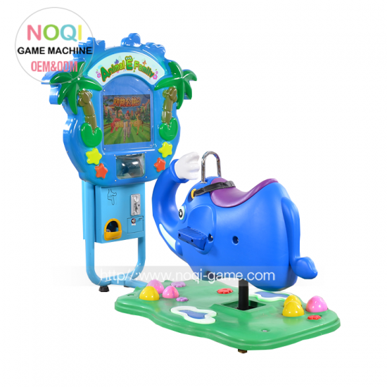 Noqi elephant kiddie ride arcade amusement ride