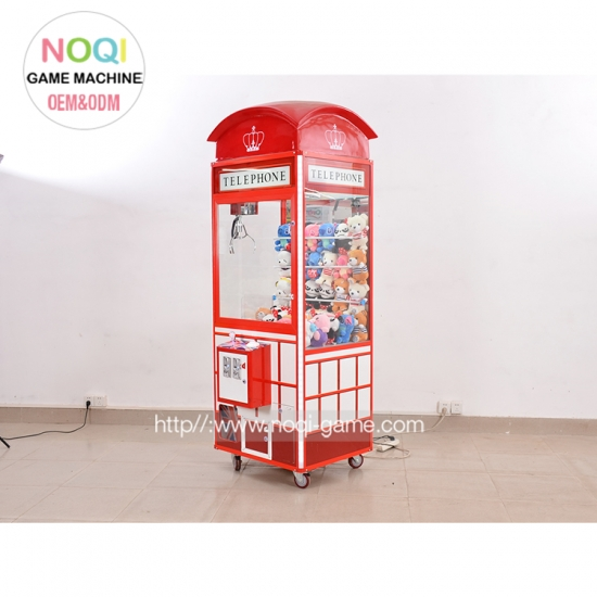 Noqi good quality claw machine cheap for mall