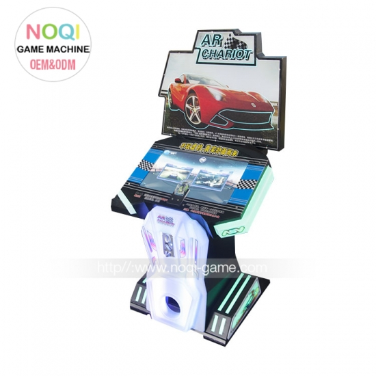 AR Chairot racing game machine for kids