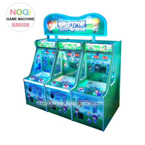 Happy soccer kids coin operated game machine