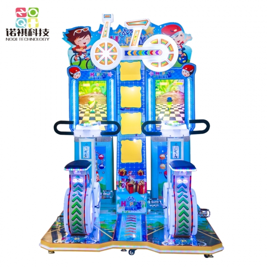 bicycle game machine