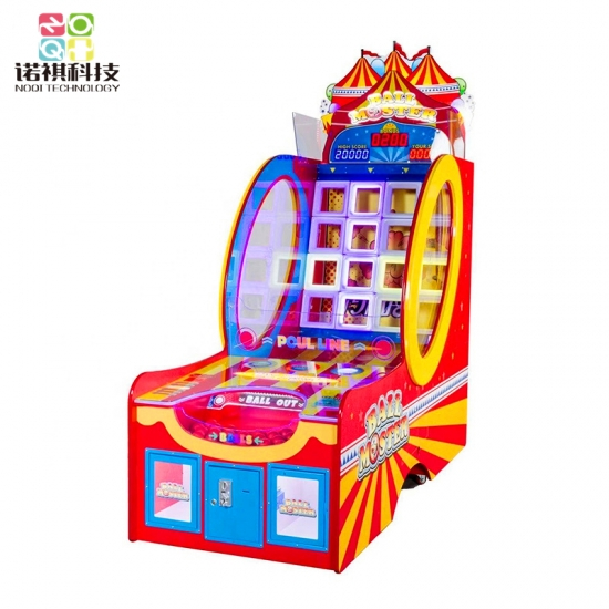 Ball Master ticket redemption shooting ball game machine