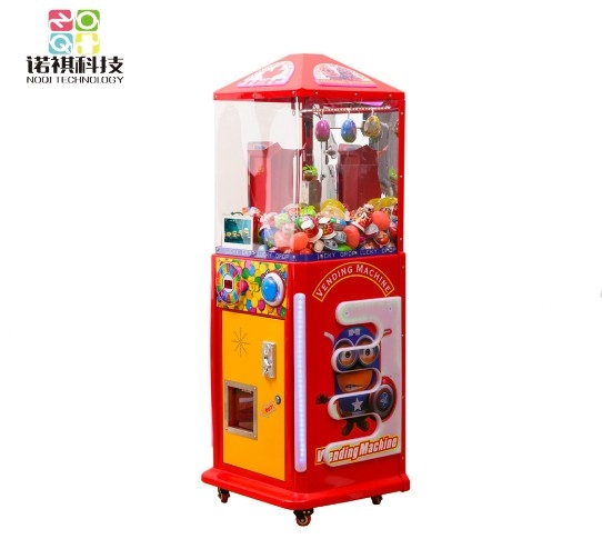 Coin operated kids Lollipop Sugar candy prize snack vending game