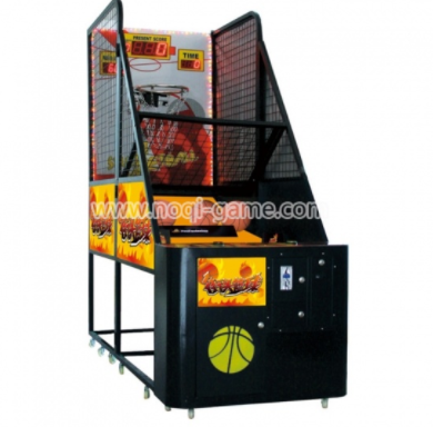 What can basketball machine game help?